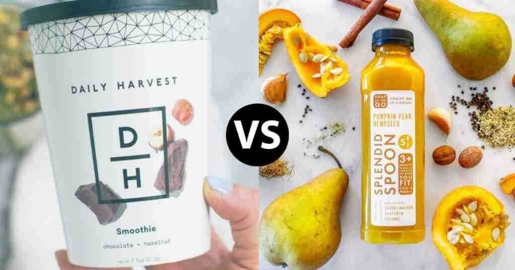 featured image for splendid spoon versus daily harvest comparison