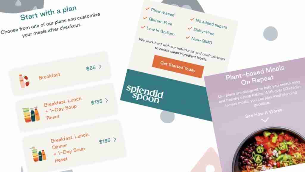 Splendid Spoon's Pricing Plans, Options and Details