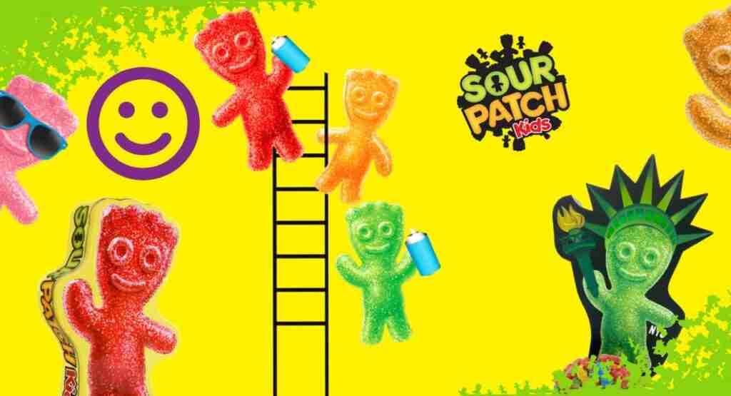 sugar sour patch kids having fun