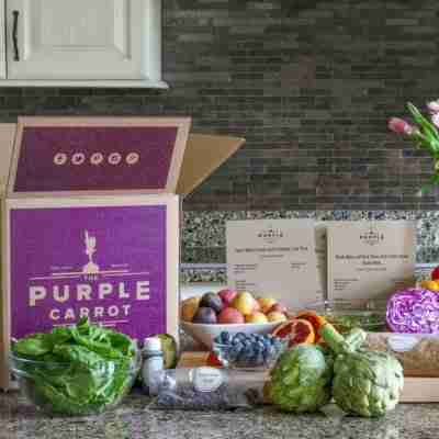 cook meals with purple carrot's meal kit