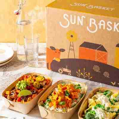 sun basket's prepared meals and meal kit