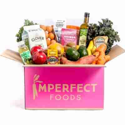 subscription box delivered by imperfect foods
