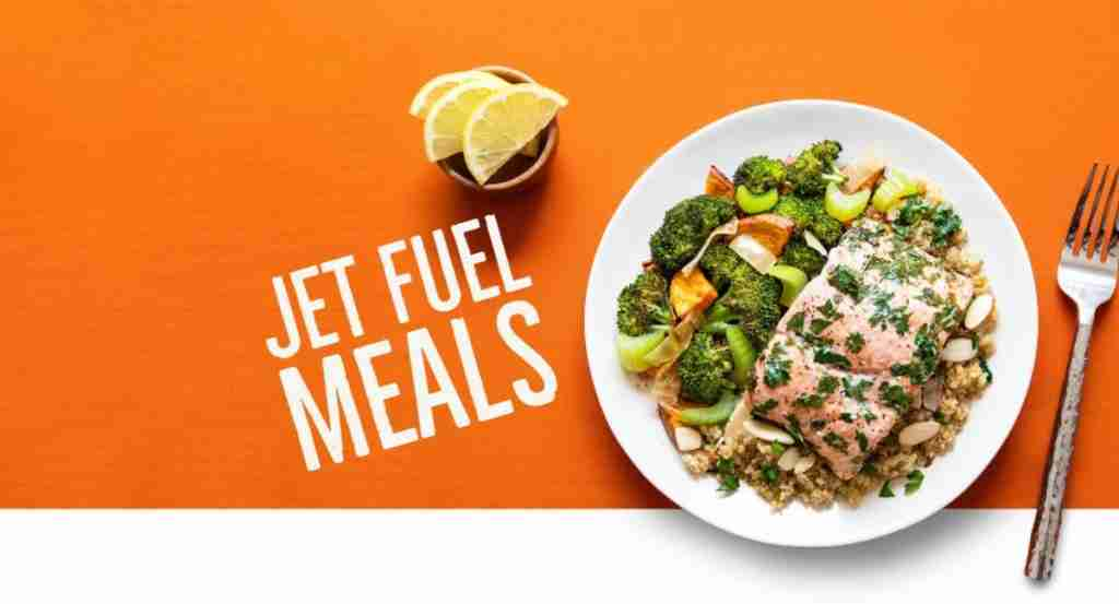 featured image for review of jet fuel meals