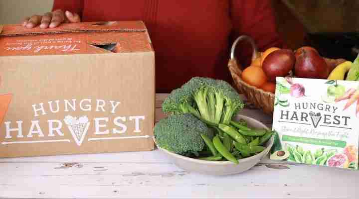 ordering hungry harvest's ugly produce