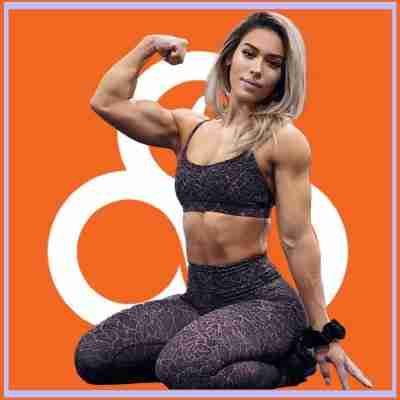 fit woman in shape using trifecta meals
