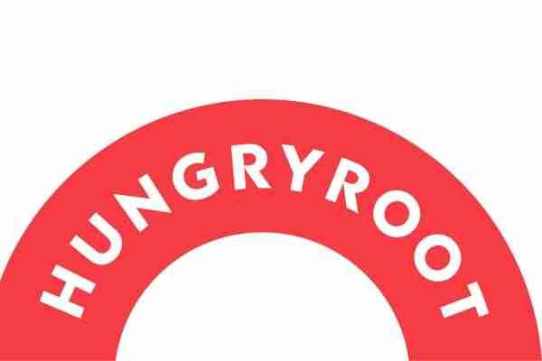 hungryroot's rainbow-type logo