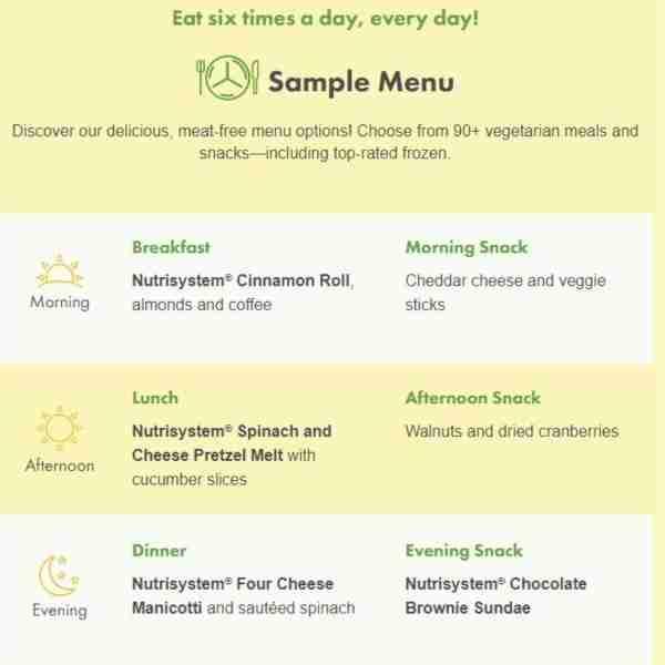 breakfast lunch and dinner menu