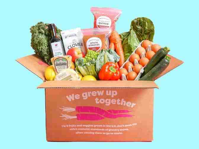 amazing deal with imperfect foods subscription box