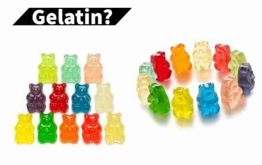 gelatin in gummy bears