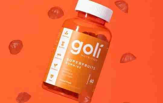 goli superfruits gummies vegan