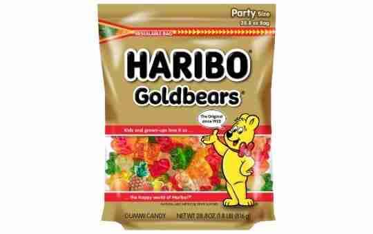 haribo brand gummy bears - are they vegan?