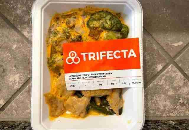 glam vegan's review of trifecta vegan meals
