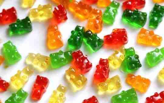 gummy bears sugar used