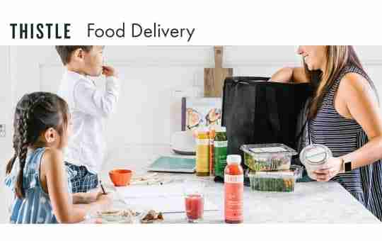 thistle's food delivery brand