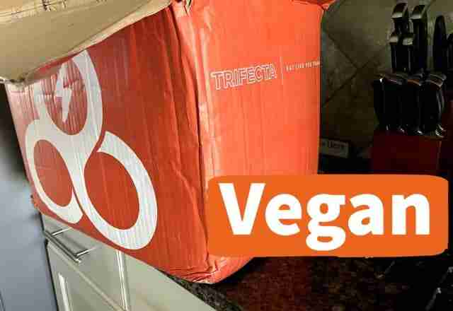 trifecta nutrition vegan meals delivery box