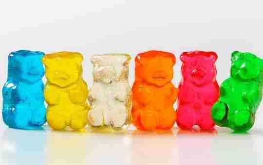 ingredients for vegan-friendly gummy bears