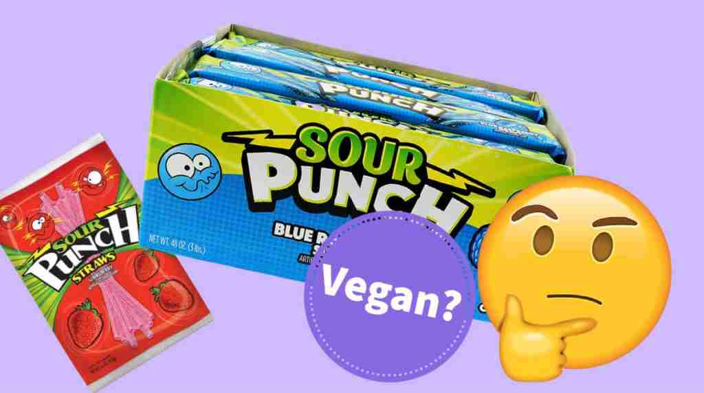 are sour punch straws vegan facts