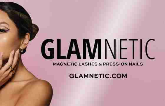 GLAMnetic logo and brand