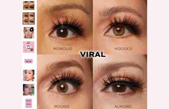 using glamnetic's viral lashes
